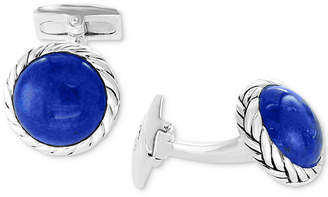 Effy Men's Malachite Cuff Links in Sterling Silver (Also in Lapis Lazuli)