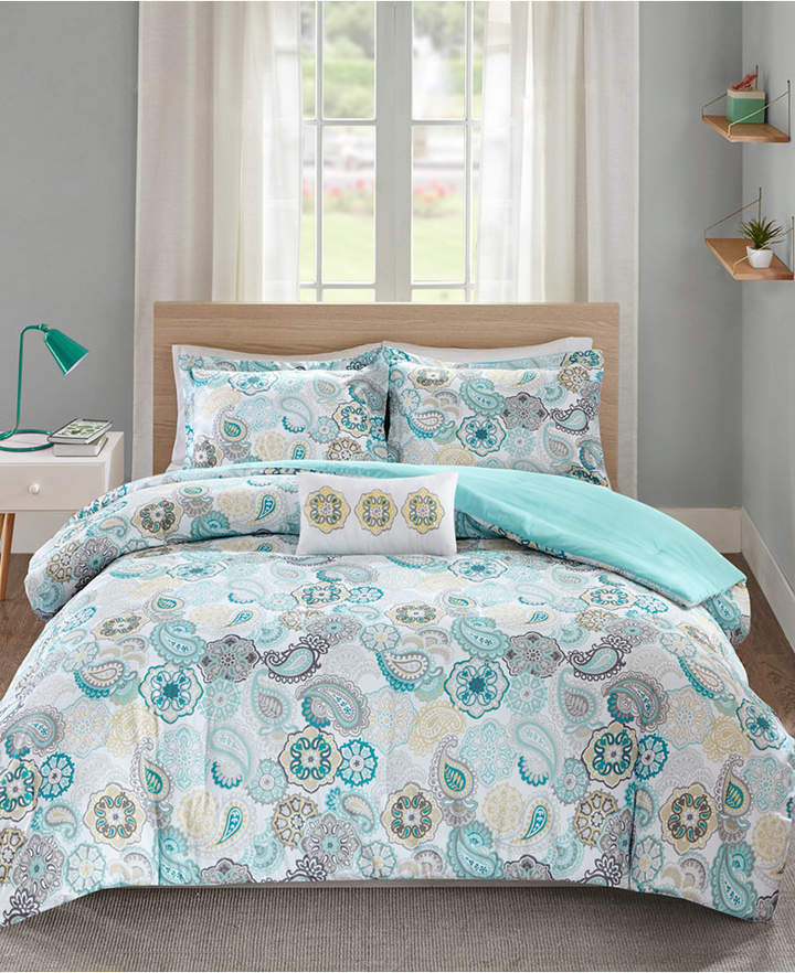 Mi Zone Tamil 4-Pc. Full/Queen Comforter Set Bedding