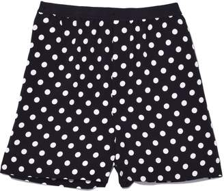 Marc Jacobs Boxer Shorts with Piping in Black/White