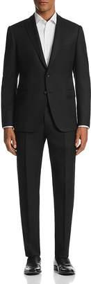 Emporio Armani M-Line Tonal Crosshatch-Pattern Classic Fit Suit - 100% Exclusive