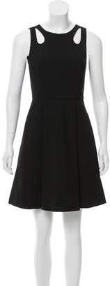 Tara Jarmon Cutout Mini Dress w/ Tags