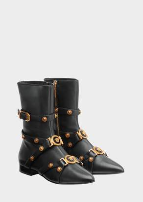 Versace Tribute Ankle Boots