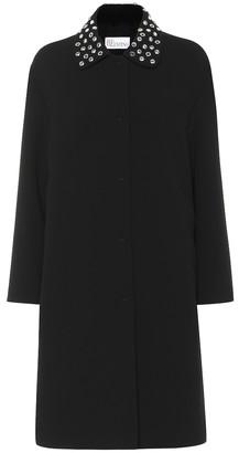 RED Valentino Embellished coat