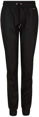 Sweaty Betty Danca Leather Look Sweat Pants