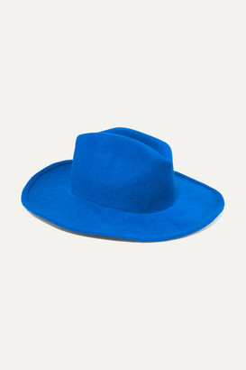 CLYDE Wool-felt Hat - Blue