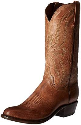 Lucchese Bootmaker Men's Crayton-tn Burn Md Goat Riding Boot
