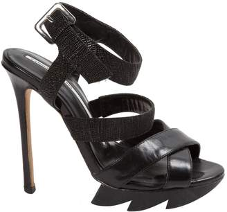 Camilla Skovgaard Black Leather Sandals