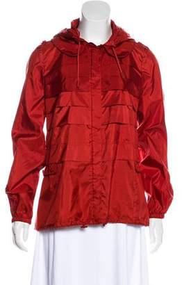 Tory Burch Lightweight Hooded Jacket