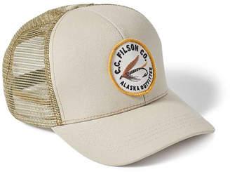 Filson Embroidered Cotton Baseball Cap