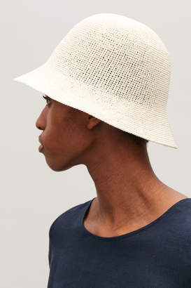 Cos CROCHET BUCKET HAT
