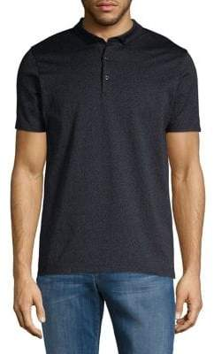 HUGO BOSS Short-Sleeve Cotton Polo