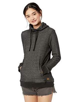 Roxy Junior's Halfway Home Funnel Neck Sweatshirt, L