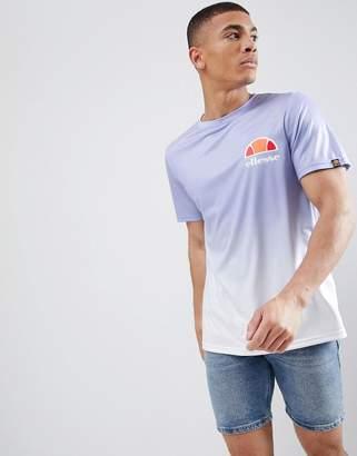 Ellesse Eularia Dip Fade T-Shirt In Lilac