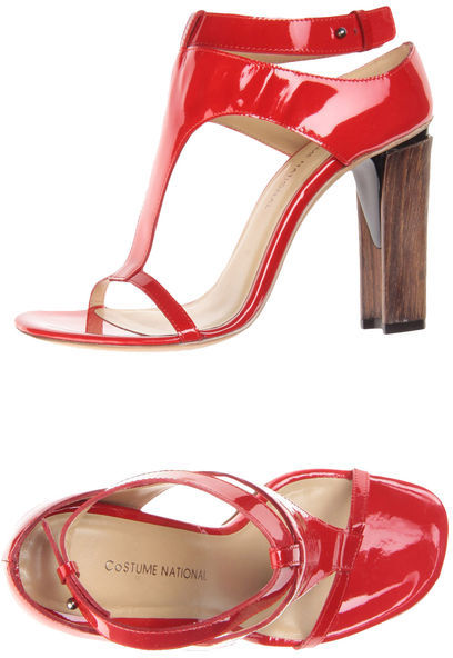 COSTUME NATIONAL High-heeled sandals