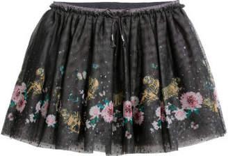 H&M Glittery Tulle Skirt - Gray