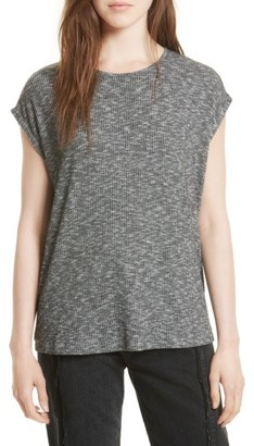 Women's Rag & Bone Knot Back Tee $125 thestylecure.com