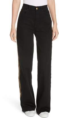 Polo Ralph Lauren Wide Leg Denim Pants