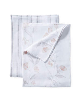 Serena & Lily Sweet Pea Swaddle Set