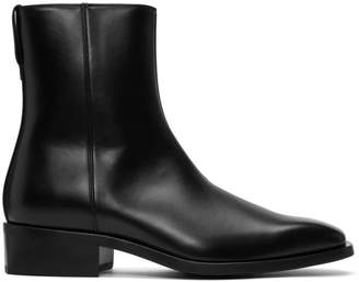 Stella McCartney Black Zippered Boots