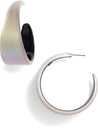 Alexis Bittar Chunky Lucite(R) Hoop Earrings