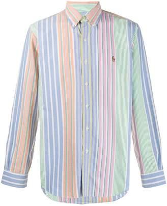 Polo Ralph Lauren rainbow striped sport shirt