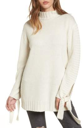 Moon River Side Slit Sweater