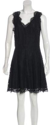 Joie Lace Sleeveless Midi Dress