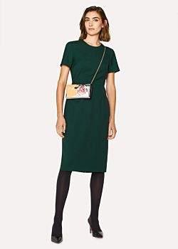 Women's Dark Green Wool-Twill 'A Dress To Travel In'