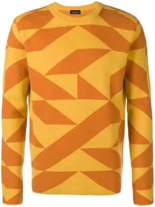 Roberto Collina Qube crew neck sweater