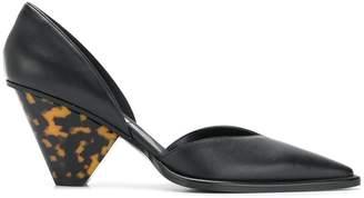 Stella McCartney tortoiseshell heel pumps