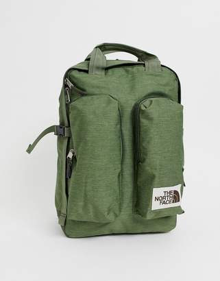 The North Face Mini Crevasse backpack in green