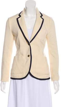 Rag & Bone Long Sleeve Wool Blazer
