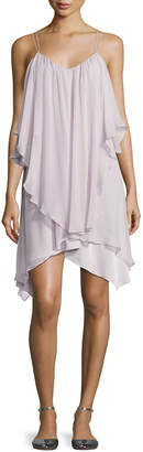 Haute Hippie All This & Heaven Too Silk Layered Dress, Antiqued-White