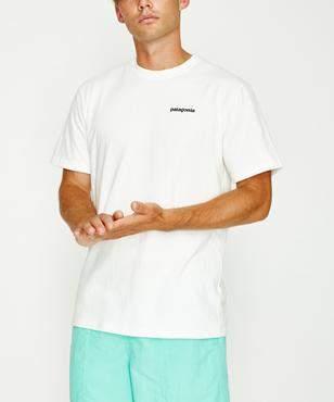 Patagonia P 6 Logo T-shirt White