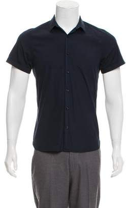 The Kooples Fitted Short Sleeve Shirt