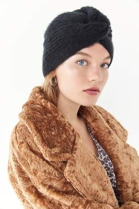 Urban Outfitters Knit Wrapped-Front Beanie