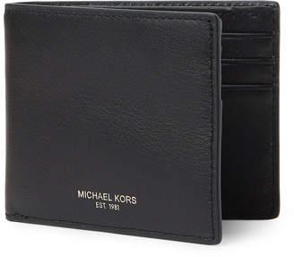 Michael Kors Owen RFID Slimfold Leather Wallet
