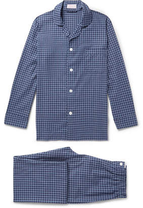 Emma Willis Gingham Brushed-Cotton Pyjama Set