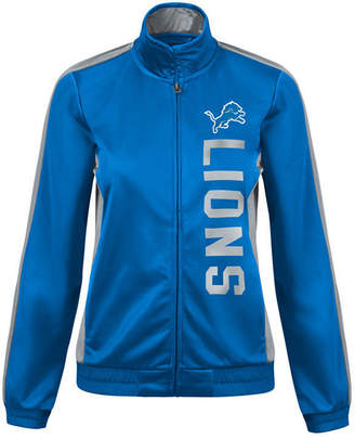 G-iii Sports Women Detroit Lions Backfield Track Jacket