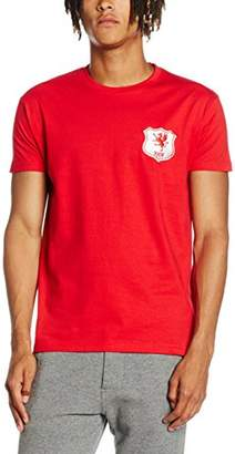 Toffs Retro Football Men's Wales Short Sleeve T-Shirt
