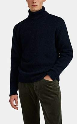 Massimo Alba Men's Alpaca-Blend Turtleneck Sweater - Navy