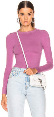 Joostricot JoosTricot Long Sleeve Crew Neck in Orchid Dusk | FWRD
