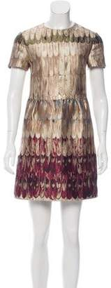 Valentino 2015 Angel Wings Brocade Dress