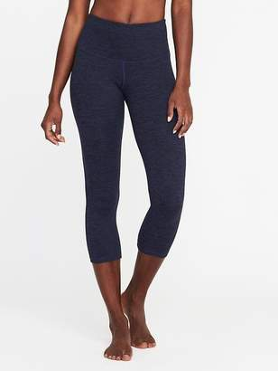Old Navy High-Rise Stripe-Melange Crops for Women