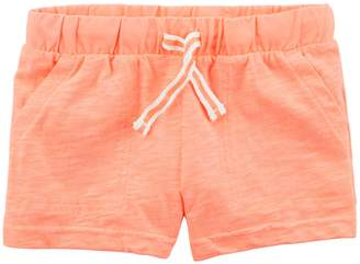 Carter's Girls 4-8 Knit Pull-On Shorts