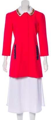Mary Katrantzou Embellished Structured Jacket