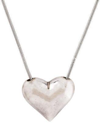 Tiffany & Co. Heart Pendant Necklace $195 thestylecure.com