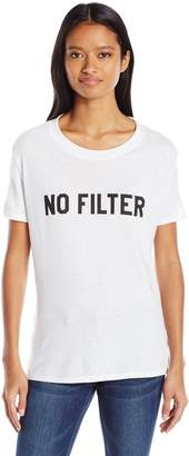Sub Urban Riot Sub_Urban RIOT Junior's No Filter Loose Fit Graphic Tee