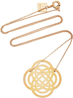 ginette_ny Baby Purity 18K Rose Gold Pendant Necklace