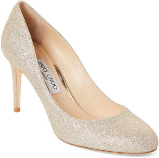 642e154ff404 Gold Glitter Pump - ShopStyle